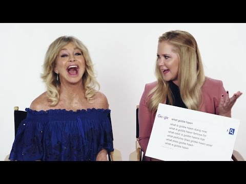 Amy Schumer & Goldie Hawn Answer the Web's Most Searched Questions  WIRED