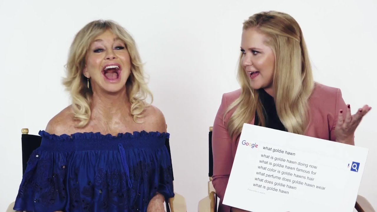 Amy Schumer & Goldie Hawn Answer the Web's Most Searched ...