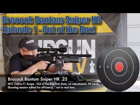 Brocock Bantam | A high quality British Made Air Rifle