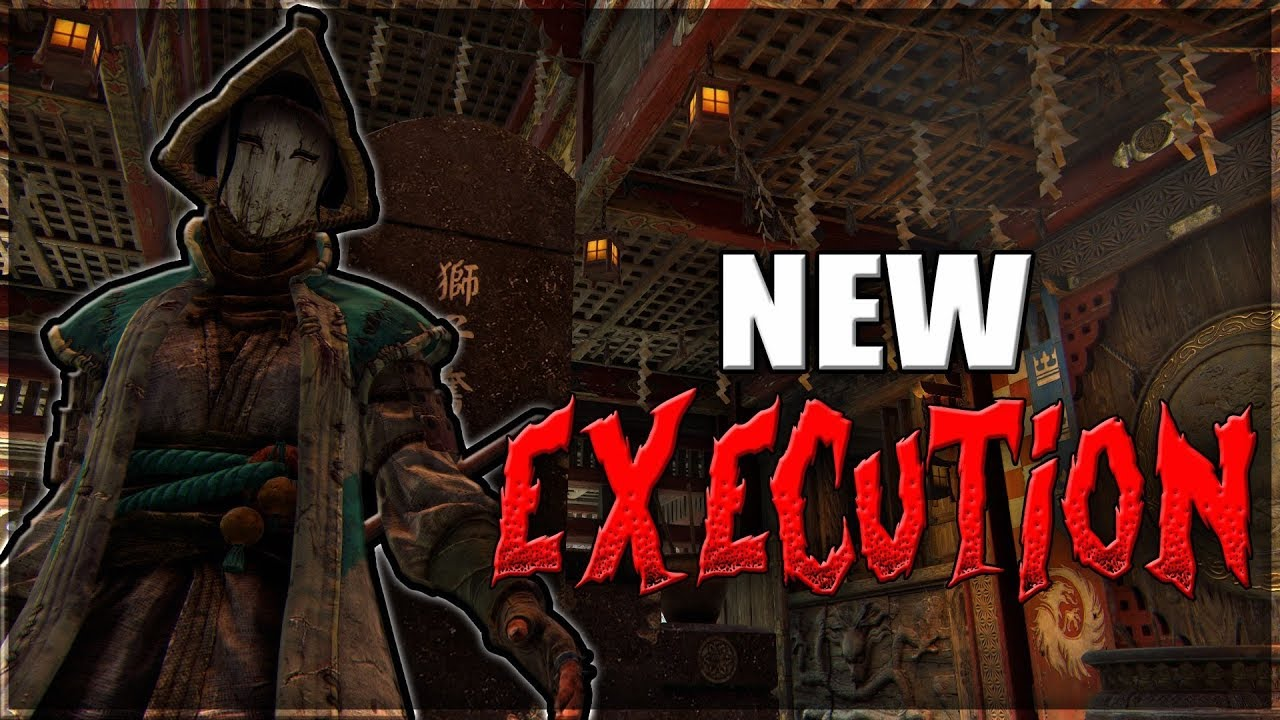 New season 6 executions for honor 1v1 nobushi duels youtube - When is for honor season 6 ...