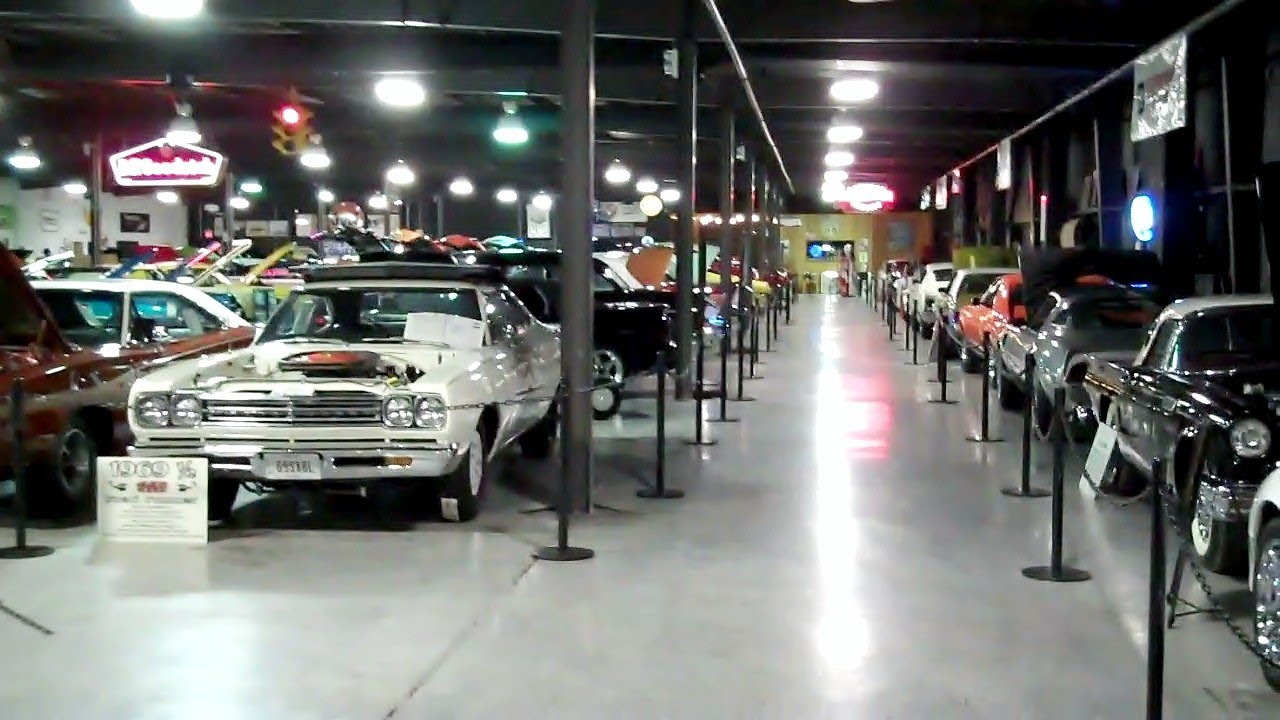 Floyd Garrett Muscle Car Museum Youtube