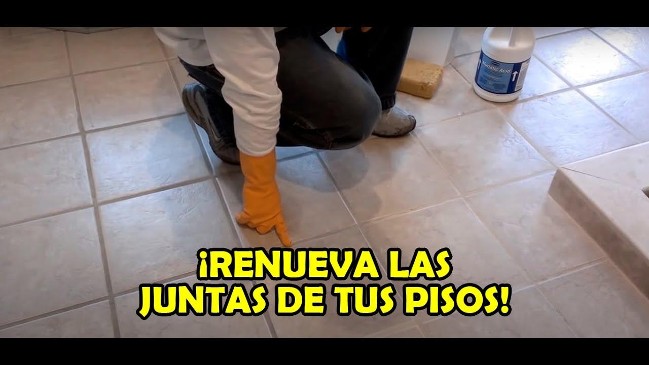 Como limpiar pisos de losas de ceramica o porcelana youtube - Como limpiar azulejos de cocina ...