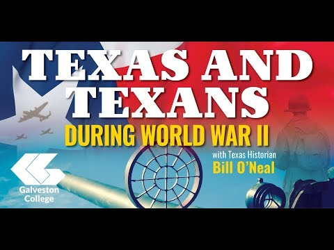 """Galveston College Presents """"Texas and Texans During World War II"""