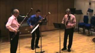 Tarantella for bassoon trio
