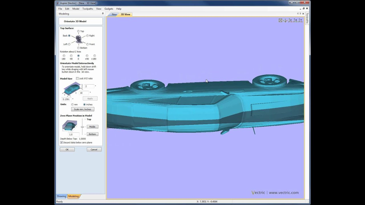 Importing and Exporting 3D Data (STL)