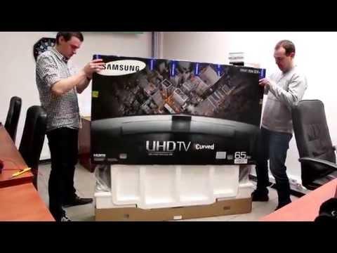 "Samsung UE65HU8500 65"" UHD 4K - unboxing"