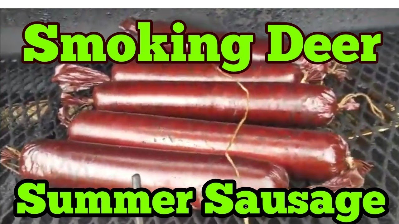 how to make your own deer summer sausage