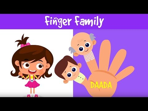 Finger Family Collection | Family Relationship Names | Finger Family Nursery Rhymes | Jalebi Street