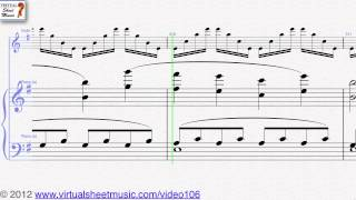 Felix Mendelssohn-Bartholdy's, Concerto in E minor Op. 64 Violin and Piano sheet music - Video Score