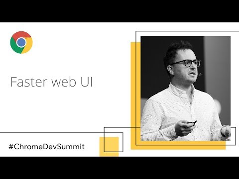 The Virtue Of Laziness: Leveraging Incrementality For Faster Web UI (Chrome Dev Summit 2018)