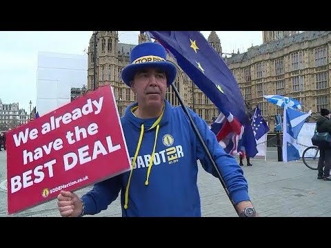 "O senhor ""Stoooppp Brexit!"""