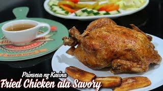 Fried Chicken ala Savory