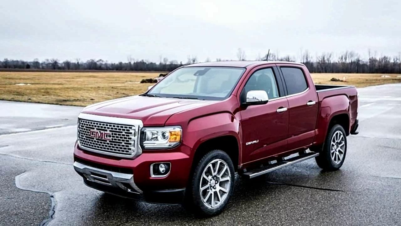 2017 GMC Canyon V6   Exterior U0026 Interior