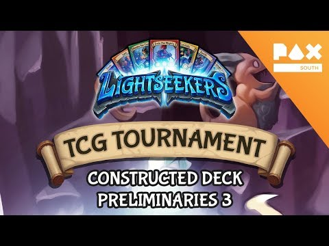 Pax South 2018 Constructed Deck Tournament - Preliminaries 3