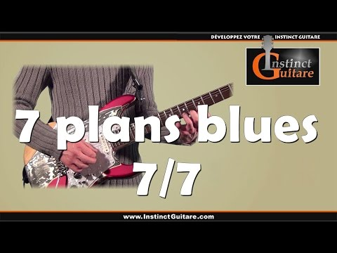 7 plans blues à la guitare - 7/7