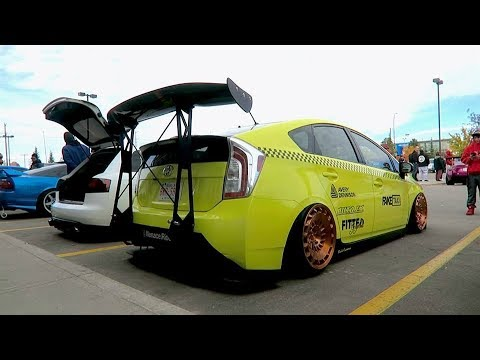 Slammed Stanced Prius Taxi