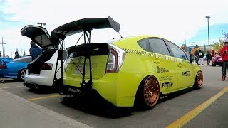 SLAMMED & STANCED PRIUS TAXI ?!
