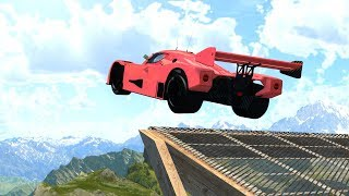 High Speed Jumps&Crashes #20 - BeamNG DRIVE