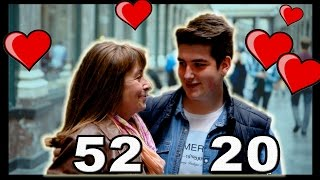 Social Experiment # 23: The age difference in couples