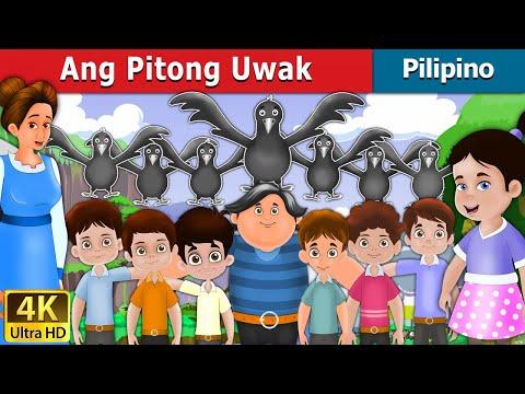 Ang Pitong Uwak | Kwentong Pambata | Mga Kwentong Pambata | Filipino Fairy Tales