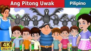 ang pitong uwak the seven crows in pilipino kwentong pambata 4k uhd filipino fairy tales