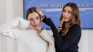 """Фото Emma Chamberlain \u0026 Hailey Compete In An """"Anything But Your Hands"""" Challenge 