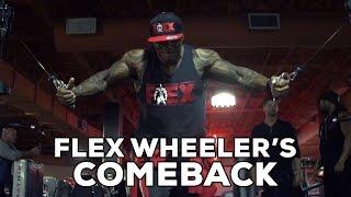 """Flex Wheeler Announces Comeback In New Video Special: """"The Comeback"""""""
