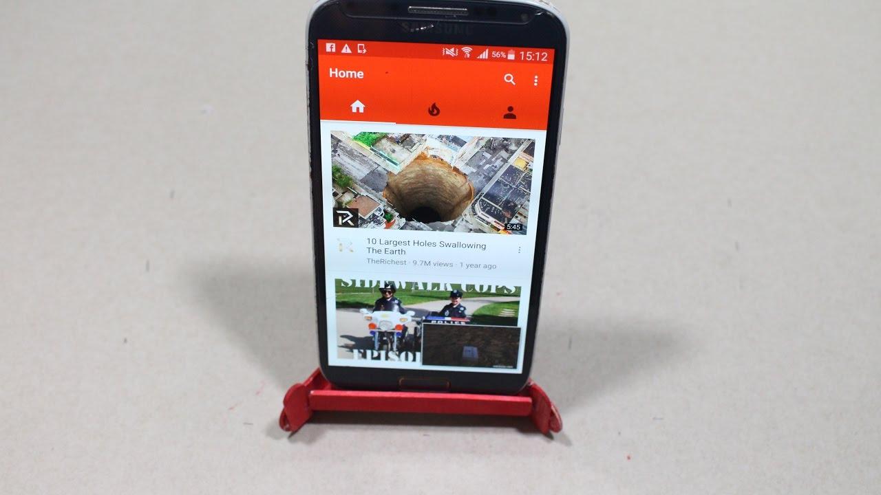 Diy Amazing Super Smartphone Holder For Desk