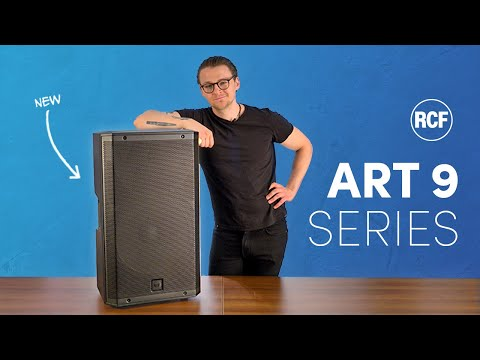 RCF ART 9 Series – All New Features and Design