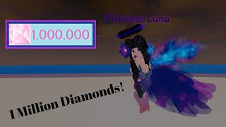 REACHING 1 MILLION DIAMONDS! - Royale🏰High - Roblox