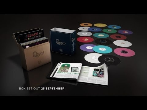 Queen - Studio Collection Vinyl Box Set Trailer
