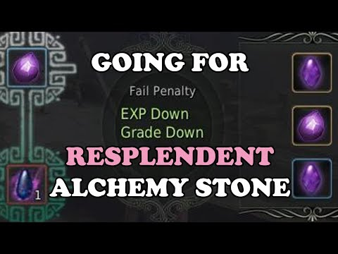 BDO - Going for Resplendent Alchemy Stone of Destruction
