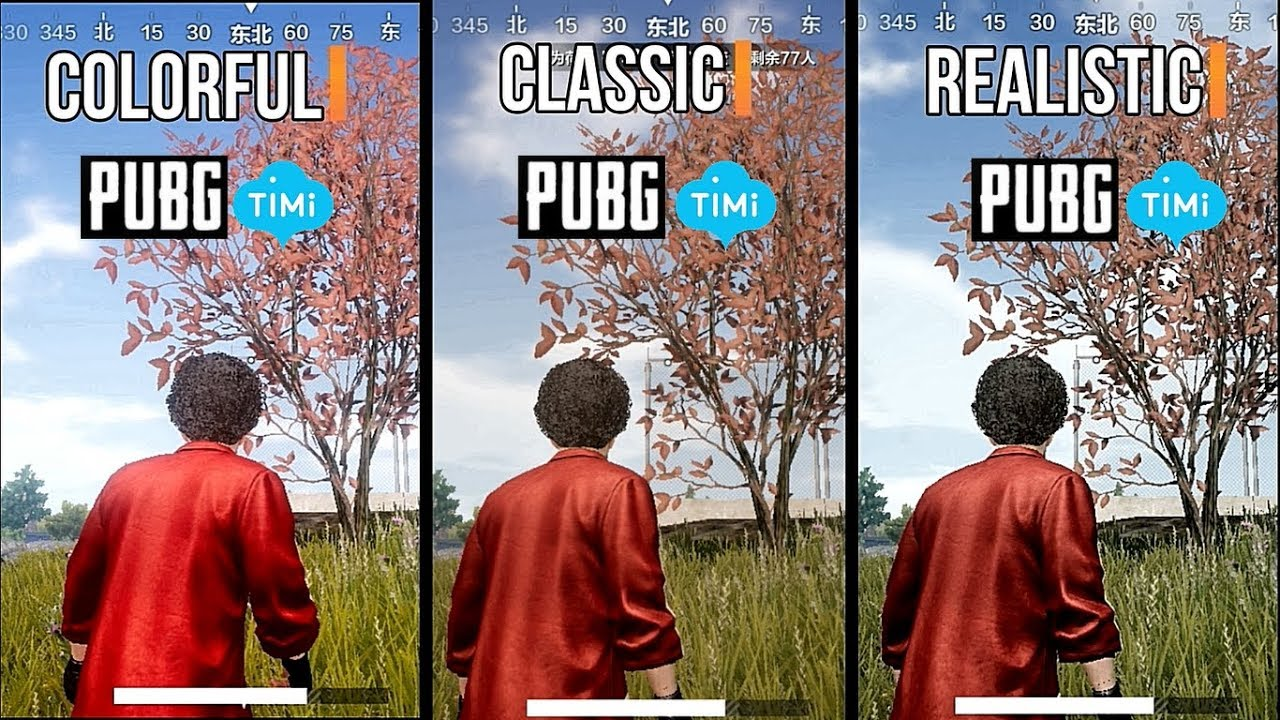 PUBG Mobile Timi I HDR ULTRA GRAPHICS COMPARISON ( Android