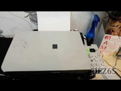 Принтер не печатает замятие бумаги canon 401
