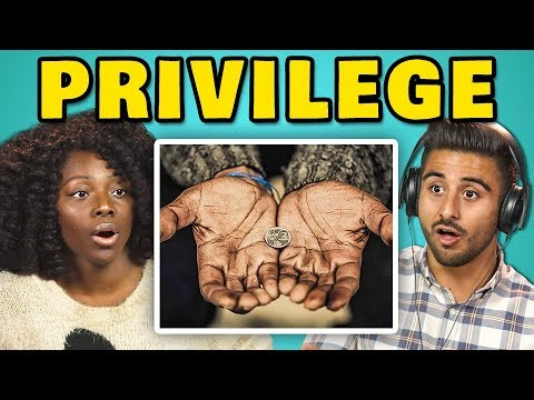 Thumbnail: COLLEGE KIDS REACT TO PRIVILEGE