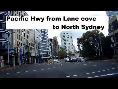 【Sydney】Pacific hwy Lane cove -  North Sydney