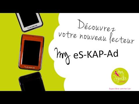 Découvrez le lecteur My eS-KAP-Ad... et sa pochette !
