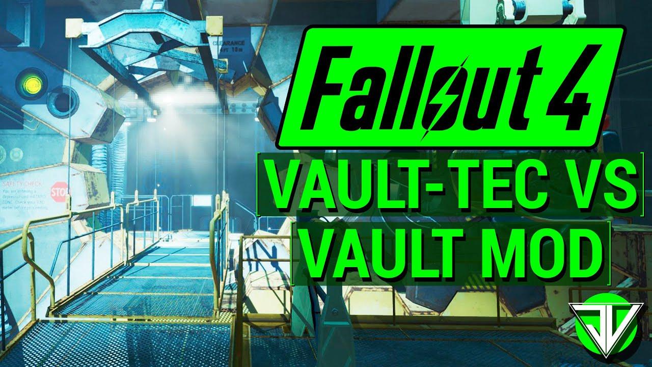 Fallout  Build Your Own Vault Vs Dlc