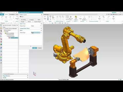 NX11.0.1 Robotic Machining