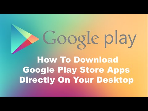 How To Download Google Play Store Apps Directly To Your Windows PC from YouTube · Duration:  1 minutes 31 seconds