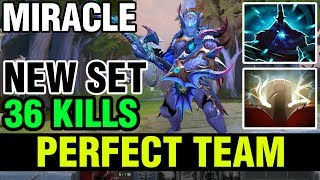 PERFECT TEAM AND A 5 MAN MAGNUS ULT - MIRACLE NEW SET WITH SVEN 36 KILLS - Dota 2