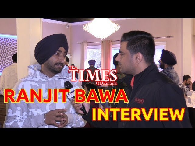 Ranjit Bawa's Interview with The Times of Canada