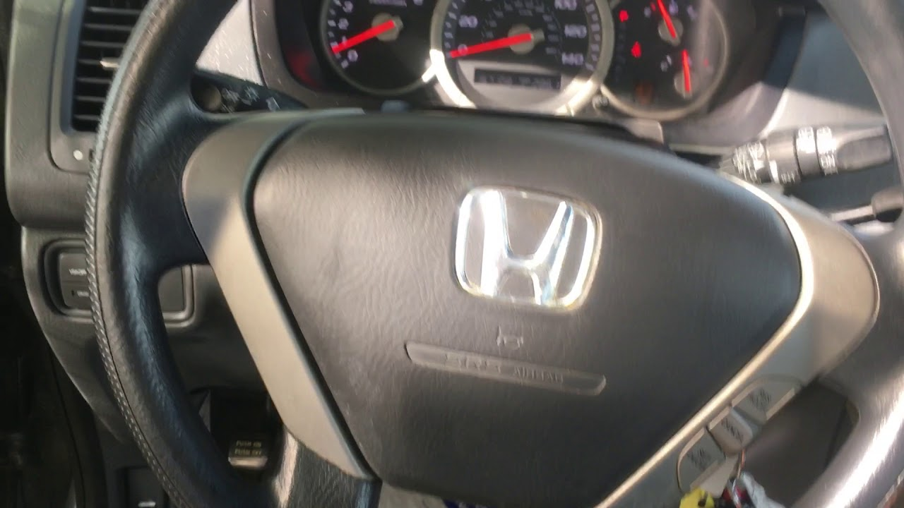 How to remove airbag from Honda Pilot or Ridgeline removal ...