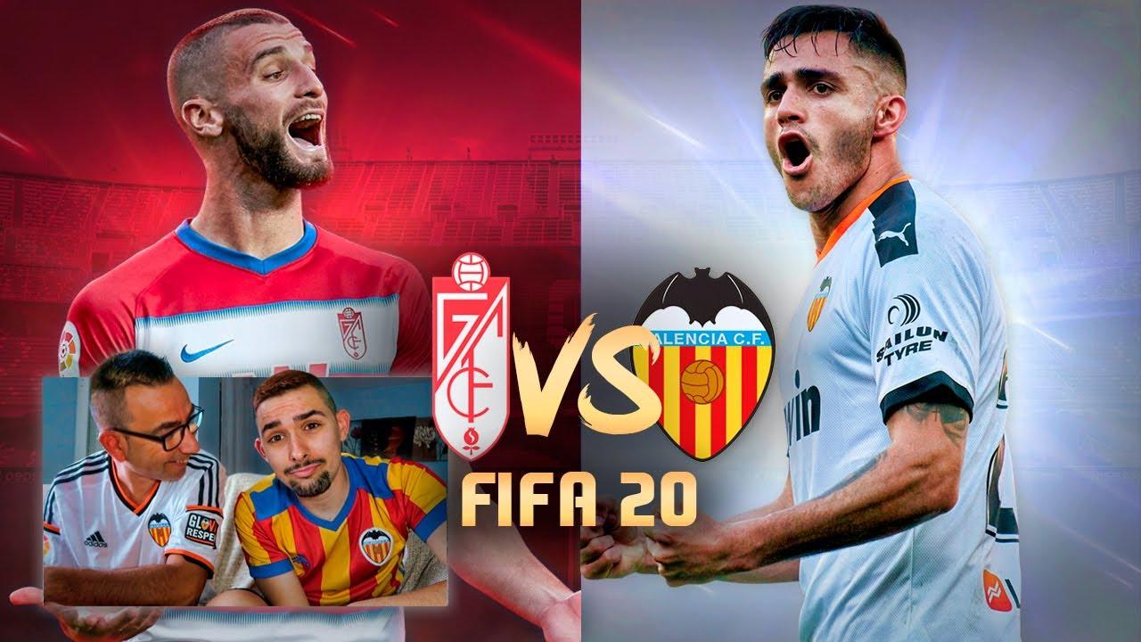 GRANADA vs VALENCIA CF Jornada 34 La Liga Santander | PREDICCIÓN FIFA 20