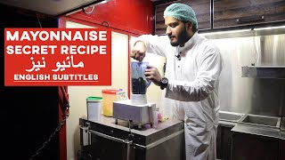 Mayonnaise Commercial Recipe with Secret Ingredient- How to make Perfect Mayonnaise - Kun Foods