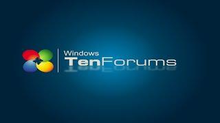 TenForums.com - Windows Evolution