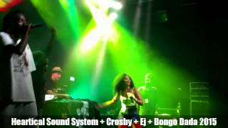 HEARTICAL SOUND SYSTEM Feat CROSBY (SA) + EJ VON LYRIK (SA) + BONGO DADA - Rebel Muzik Prod 2015