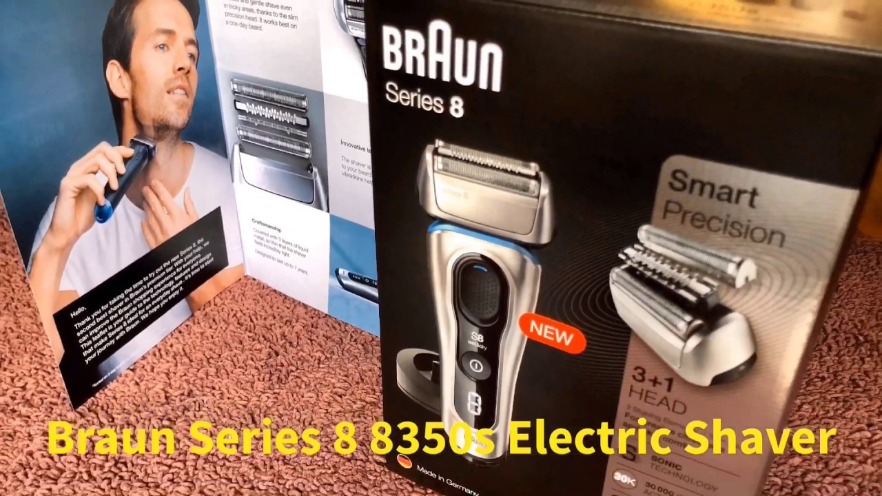 Braun Series 8 8350s