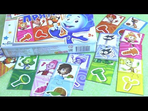 Фиксики - Настольная игра - Прятки / Fixiki - Board Game - Hiding [Мир игрушек]