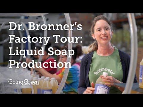 Dr. Bronner's Factory Tour: Liquid Soap Production